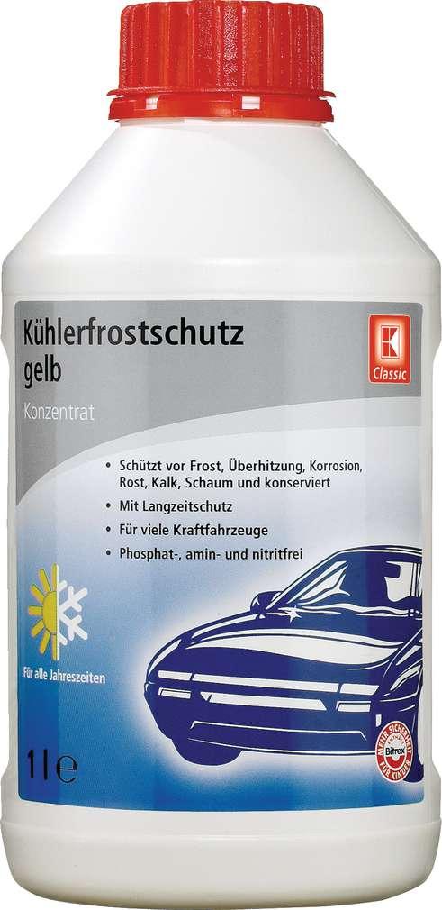 Abbildung des Sortimentsartikels K-Classic Kühlerfrostschutz-Konzentrat gelb 1l