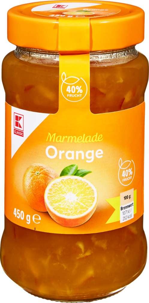 Abbildung des Sortimentsartikels K-Classic Orangenmarmelade 450g