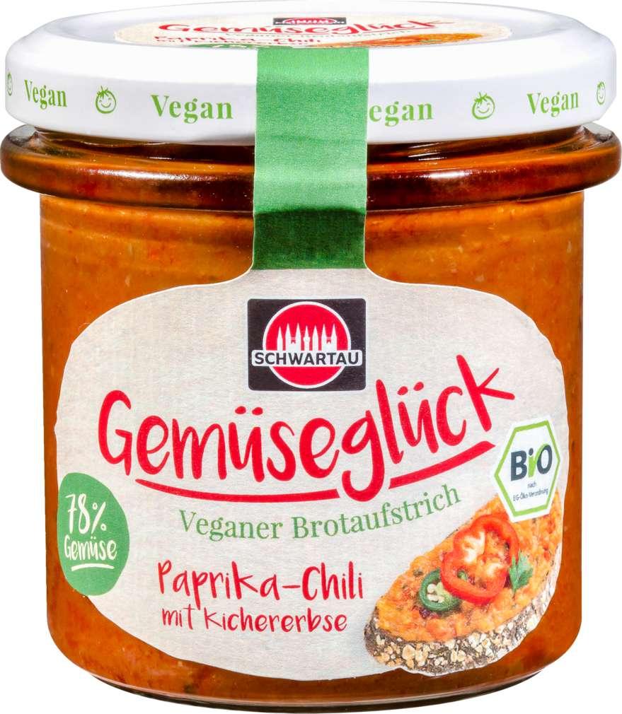 Abbildung des Sortimentsartikels Schwartau Gemüseglück Paprika-Chili vegan 135g