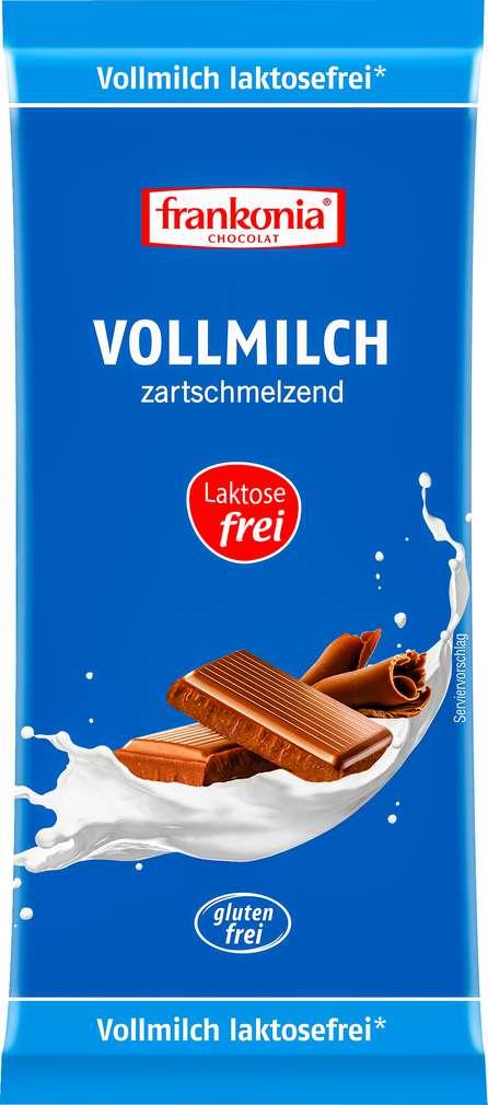 Abbildung des Sortimentsartikels Frankonia Chocolat Vollmilch 100g