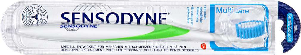 Abbildung des Sortimentsartikels Sensodyne Zahnbürste Multicare Weich 1 Stück