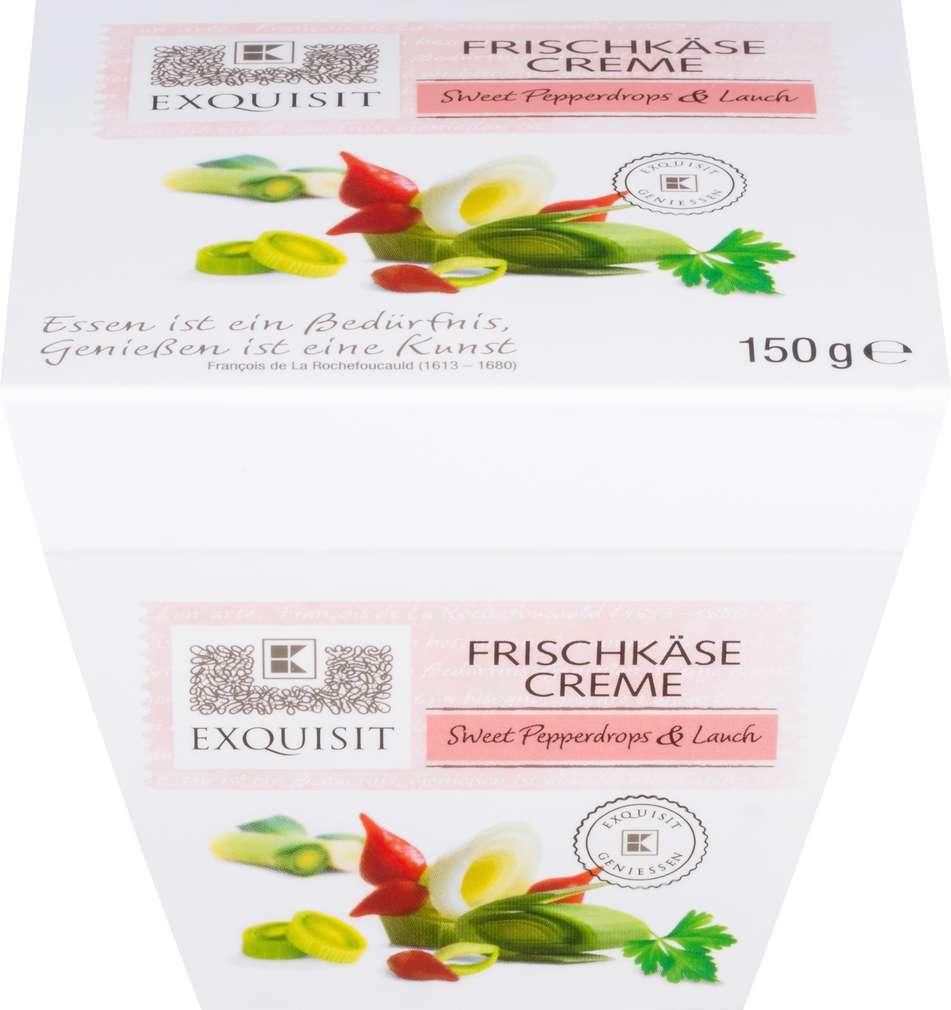 Abbildung des Sortimentsartikels Exquisit Brotaufstrich Kirschpaprika & Lauch 150g