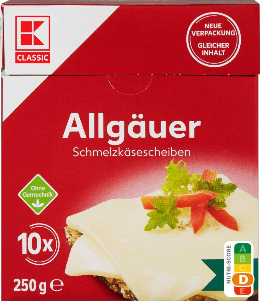 Abbildung des Sortimentsartikels K-Classic Allgäuer Scheiben 35% Fett i.Tr. 250g
