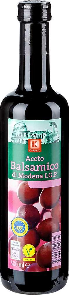 Abbildung des Sortimentsartikels K-Classic Aceto Balsamico di Modena I.G.P. 500ml