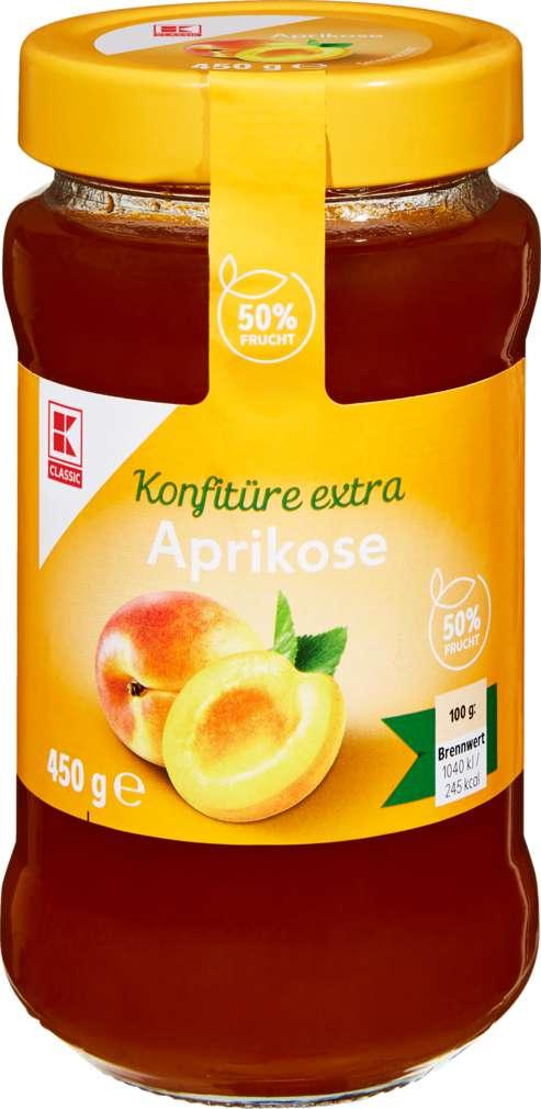Abbildung des Sortimentsartikels K-Classic Konfitüre Aprikose 450g