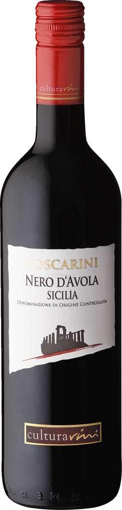 Abbildung des Sortimentsartikels Cultura Vini Nero d'Avola IGT 0,75l