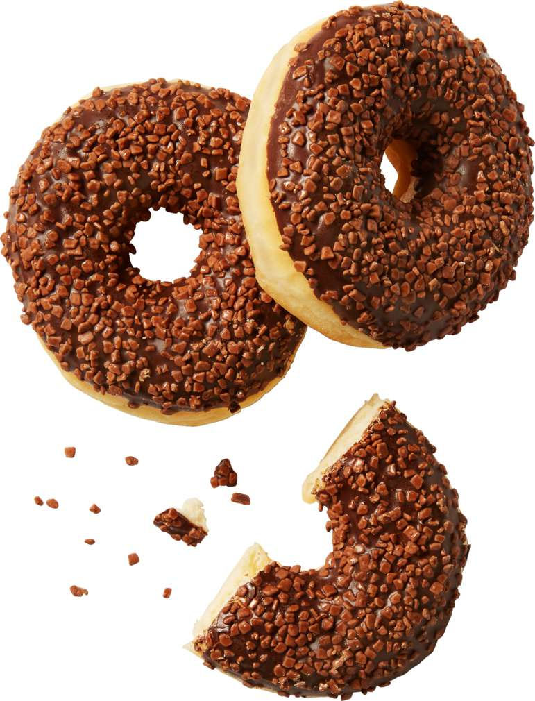 Abbildung des Sortimentsartikels  Schokoladendonut