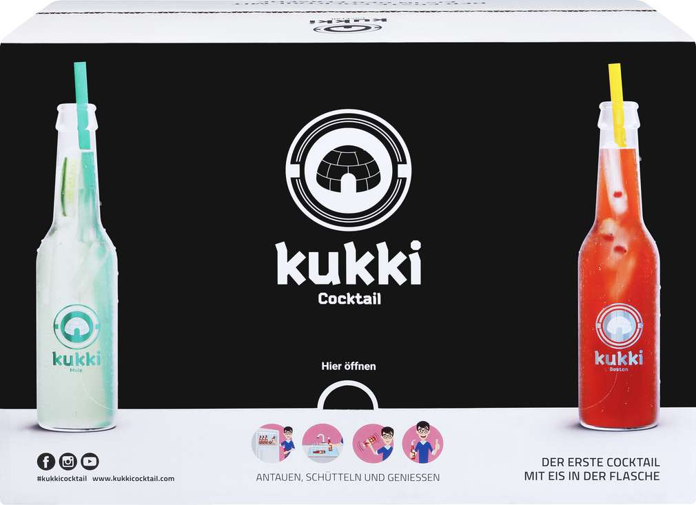 Abbildung des Sortimentsartikels kukki Cocktail Mix 275ml