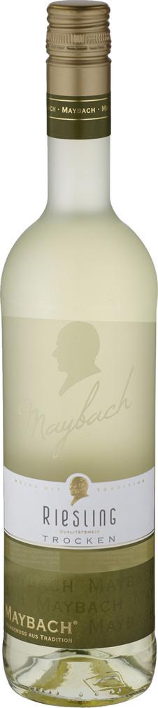 Abbildung des Sortimentsartikels Maybach Riesling trocken 0,75l