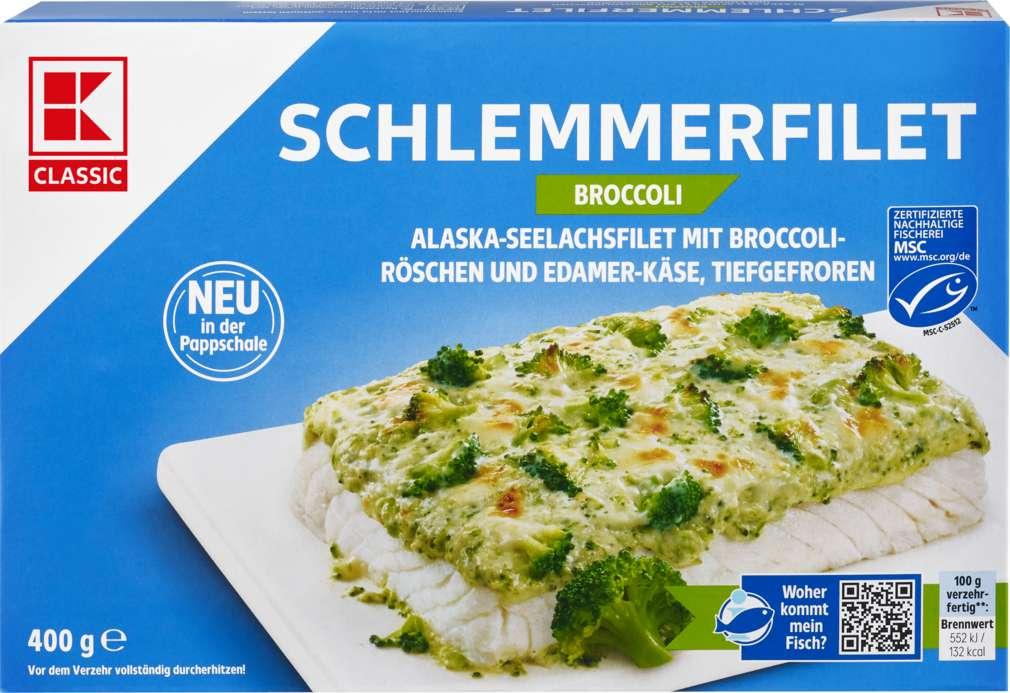 Abbildung des Sortimentsartikels K-Classic MSC Schlemmerfilet Broccoli 400g