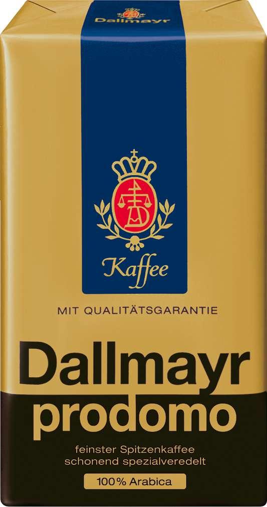 Abbildung des Sortimentsartikels Dallmayr Prodomo Spitzenkaffee 250g