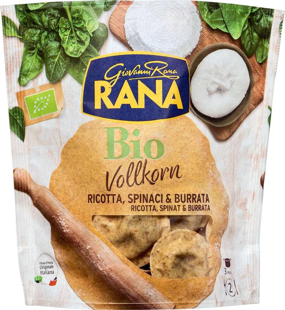 Abbildung des Sortimentsartikels Rana Bio-Tortellini Girasoli Ricotta 250g