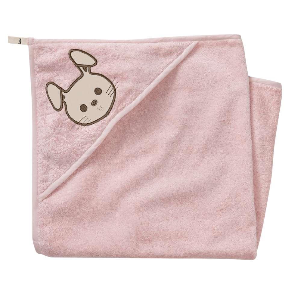 Abbildung des Sortimentsartikels Kuniboo Mädchen Baby Kapuzenhandtuch Einheitsgröße 1 Stück