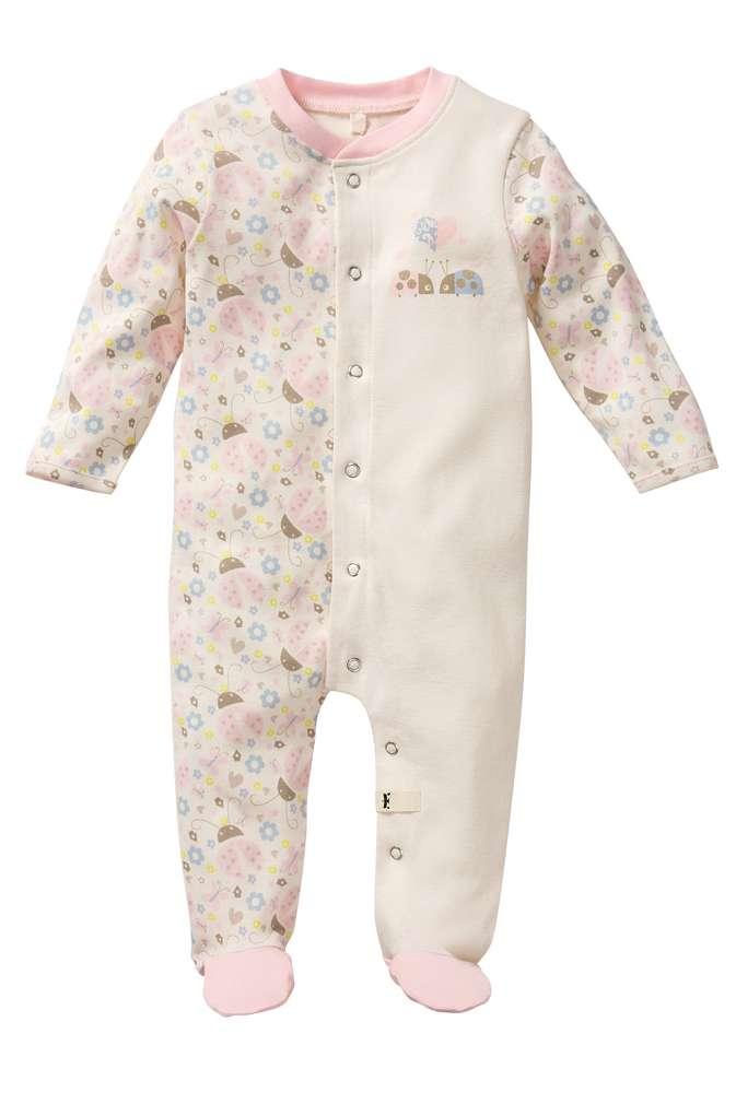 Abbildung des Sortimentsartikels Kuniboo Mädchen Baby Schlafoverall Größe 50/56 - 86/92 1 Stück