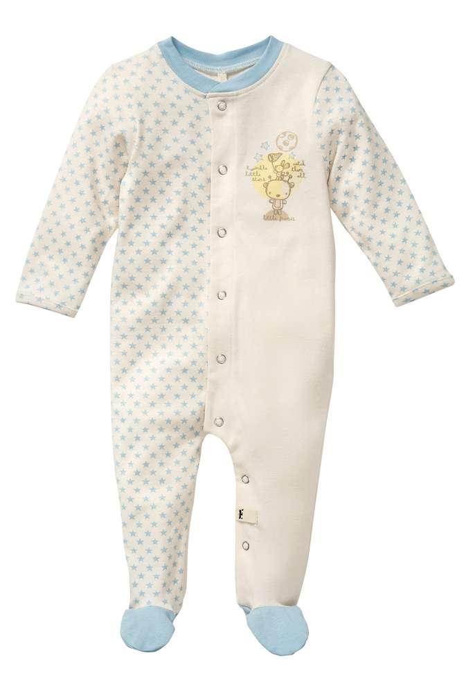 Abbildung des Sortimentsartikels Kuniboo Jungen Baby Schlafoverall Größe 50/56 - 86/92 1 Stück