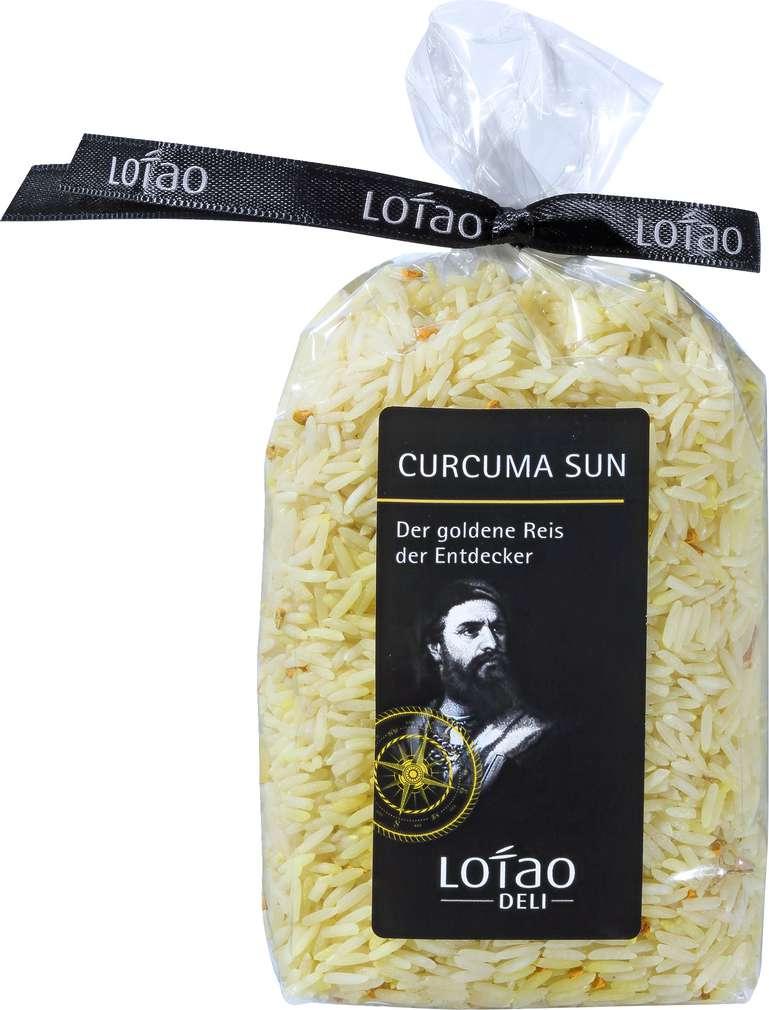 Abbildung des Sortimentsartikels Lotao Curcuma Sun Reis Bio 300g