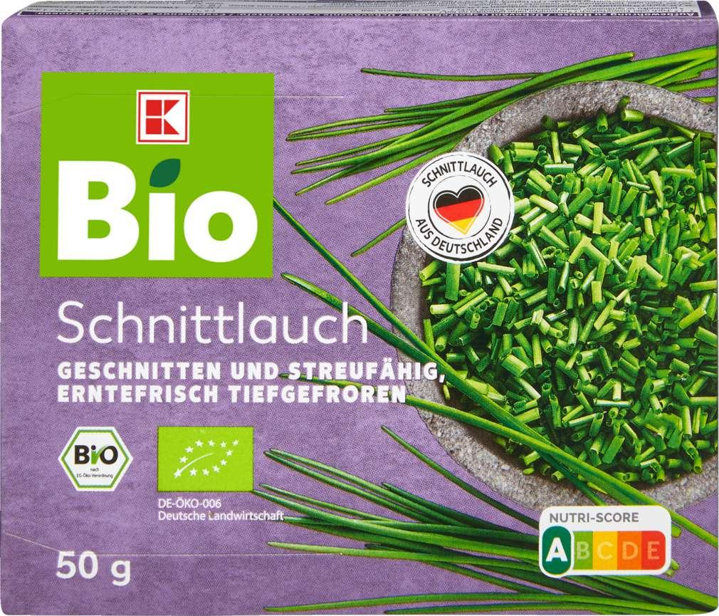 Abbildung des Sortimentsartikels K-Bio Schnittlauch 50g