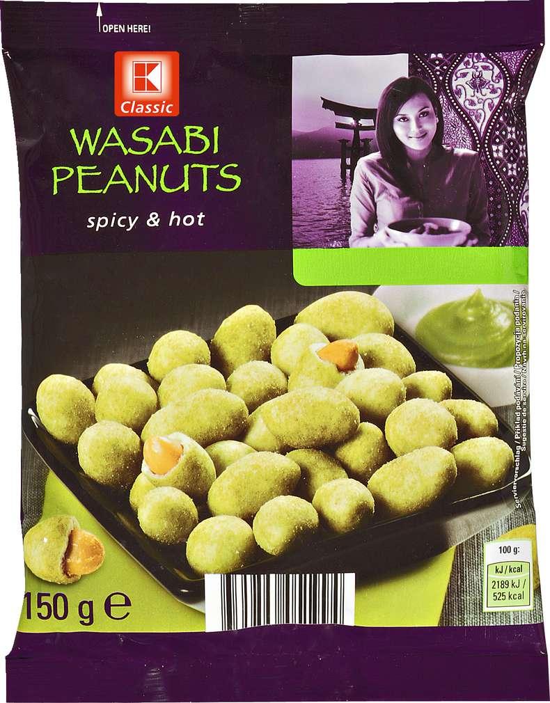 Abbildung des Sortimentsartikels K-Classic Wasabi Erdnüsse 150g
