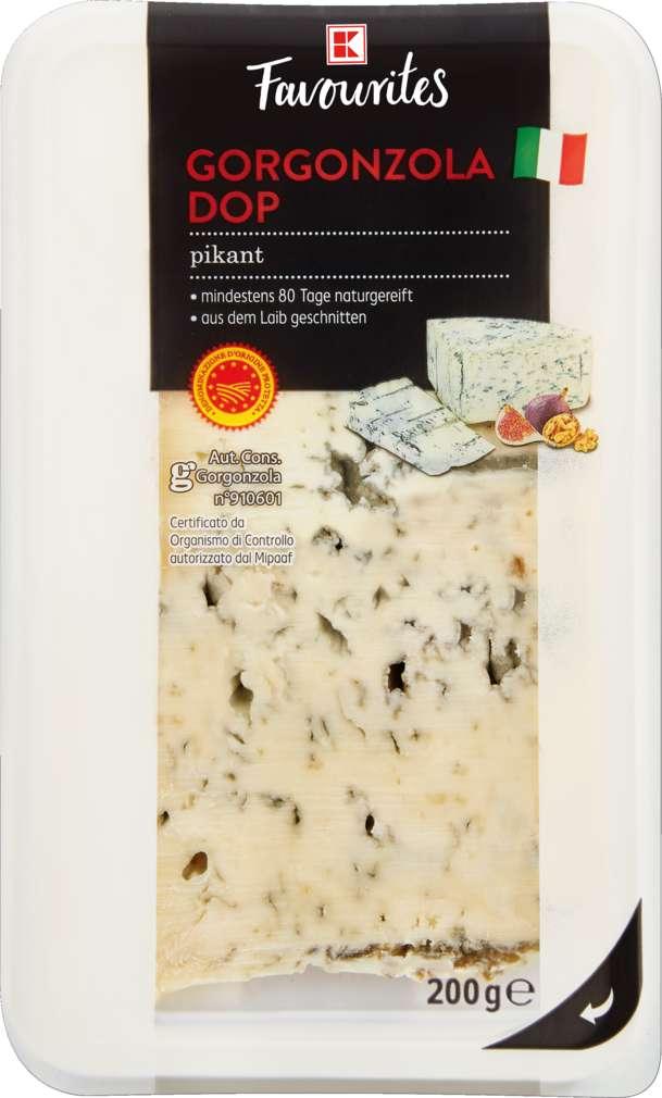 Abbildung des Sortimentsartikels K-Favourites Gorgonzola DOP Piccante 48% 200g