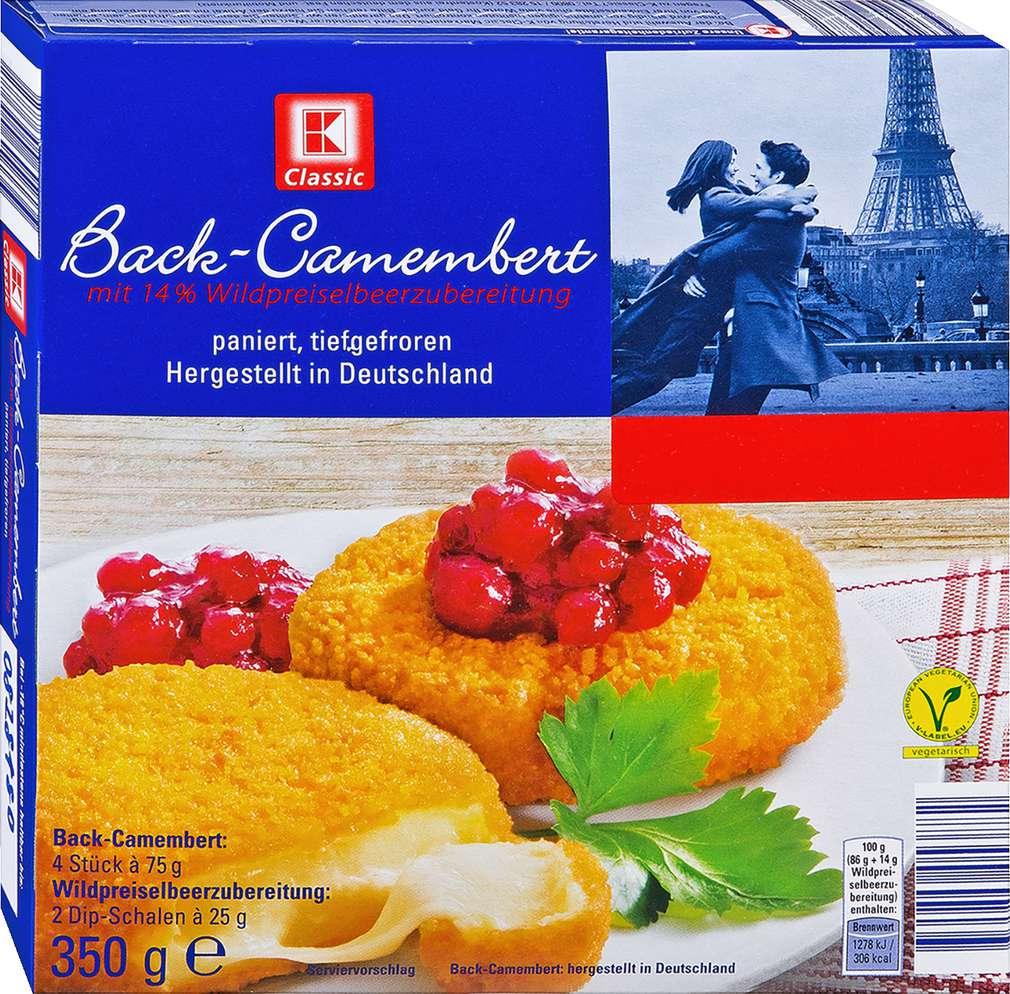Abbildung des Sortimentsartikels K-Classic Back-Camembert 350g