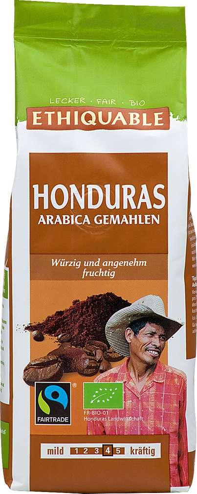 Abbildung des Sortimentsartikels Ethiquable Honduras Arabica gemahlen 250g