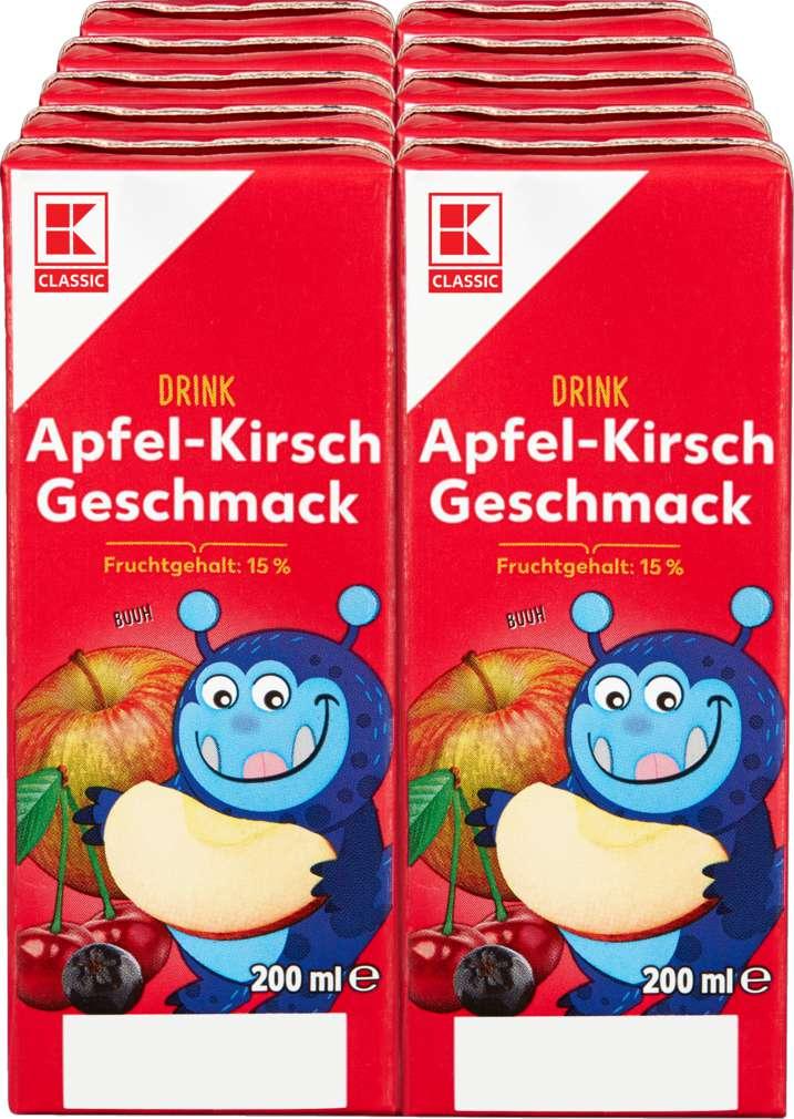 Abbildung des Sortimentsartikels K-Classic Apfel-Kirsch Drink 10x0,2l