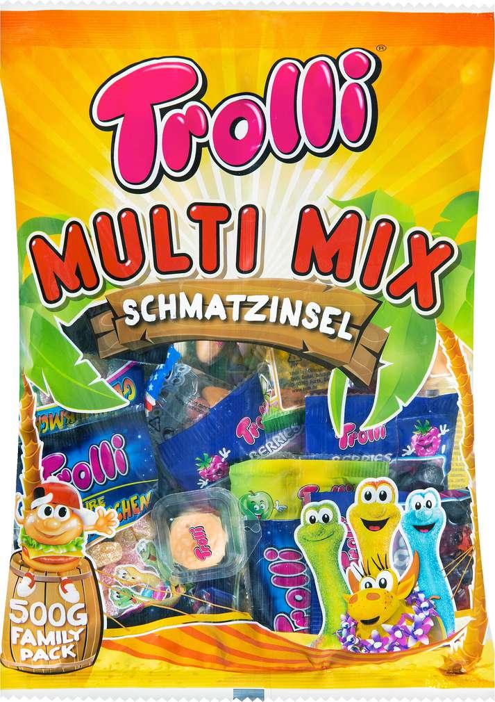 Abbildung des Sortimentsartikels Trolli Multi Mix 500g