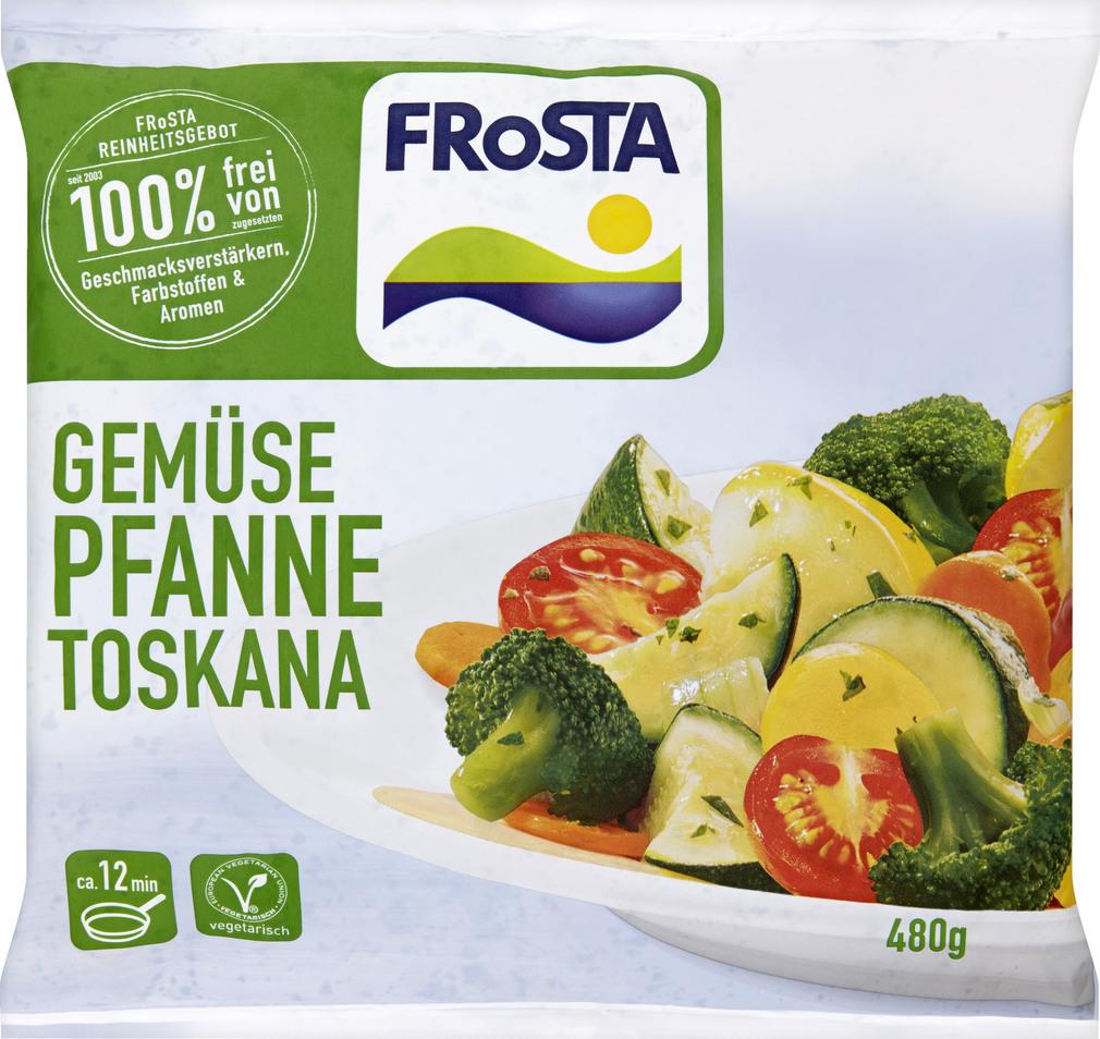 Abbildung des Sortimentsartikels Frosta Gemüsepfanne Toskana 480g