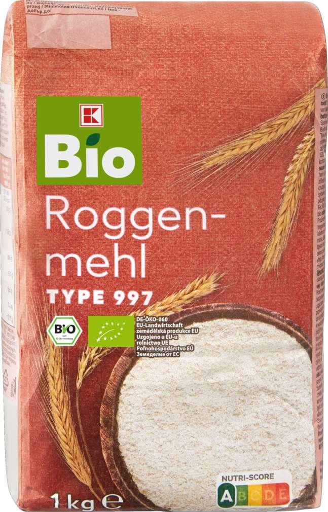 Abbildung des Sortimentsartikels K-Bio Roggenmehl 997 1kg