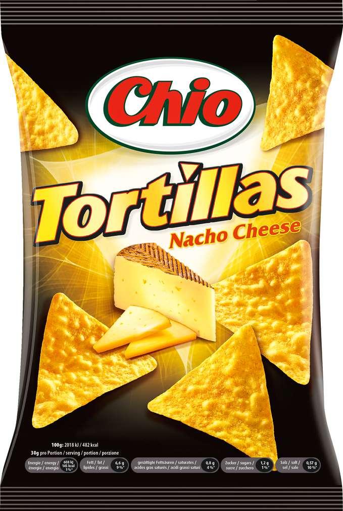 Abbildung des Sortimentsartikels Chio Nacho Cheese 125g