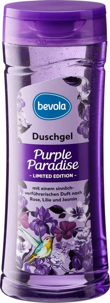 Abbildung des Sortimentsartikels Bevola Duschgel Limited Ed. Purple Paradise 300ml
