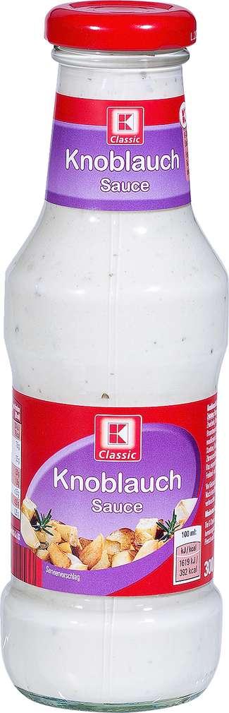 Abbildung des Sortimentsartikels K-Classic Knoblauch-Sauce 300ml