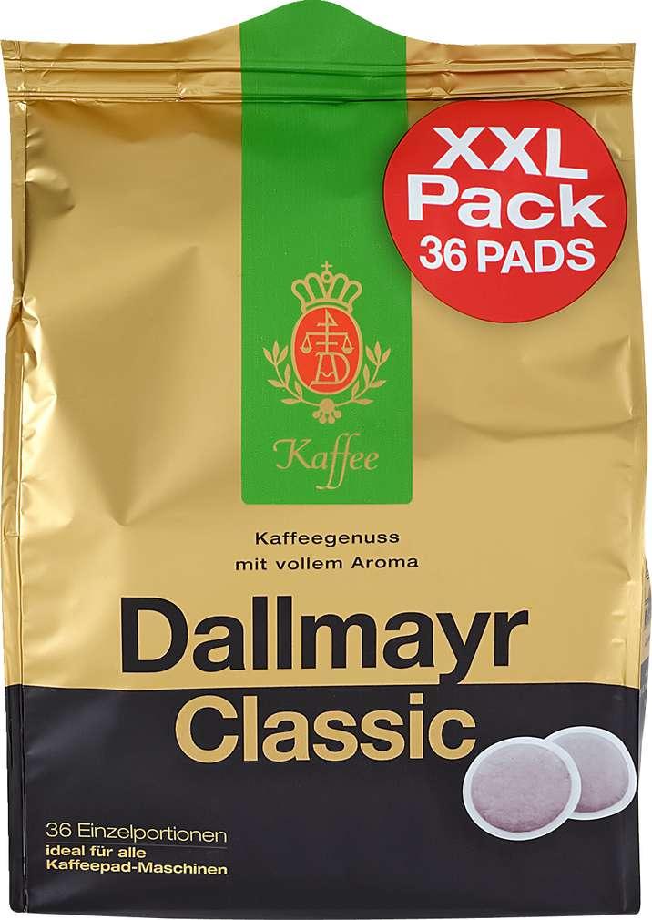 Abbildung des Sortimentsartikels Dallmayr Classic 36 Pads 248g