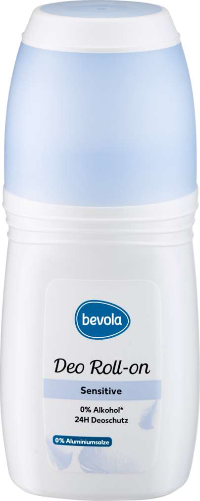 Abbildung des Sortimentsartikels Bevola Deo Roll-on Woman Sensitiv 0% Alusalze 50ml