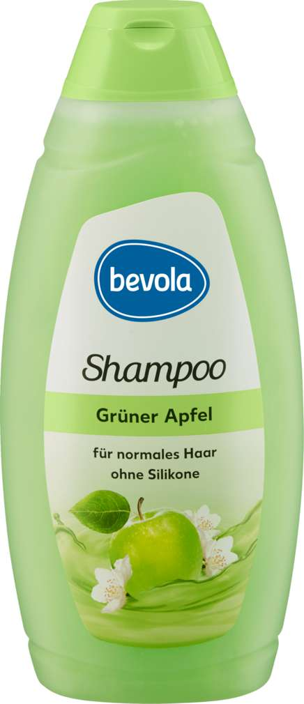 Abbildung des Sortimentsartikels Bevola Shampoo Grüner Apfel 500ml
