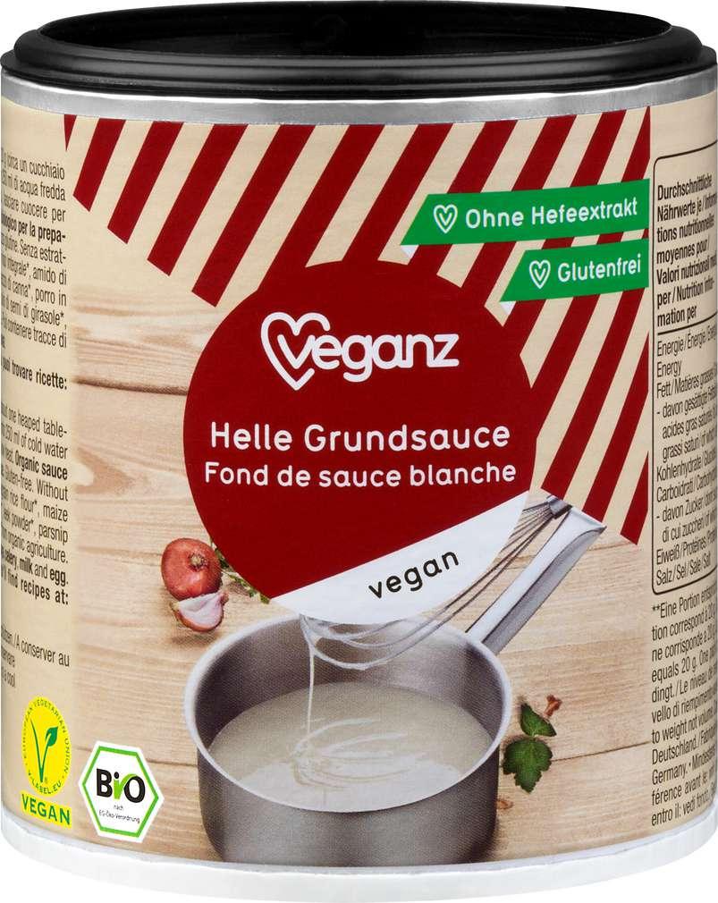 Abbildung des Sortimentsartikels Veganz Bio-Grundsauce hell 140g