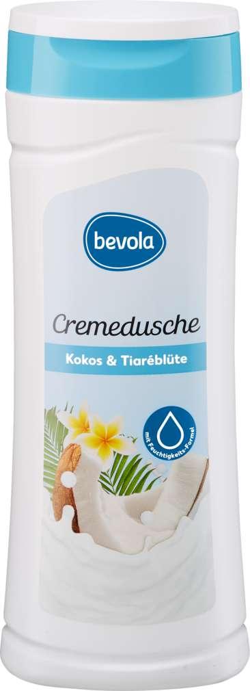 Abbildung des Sortimentsartikels Bevola Duschcreme Kokos & Tiareblüte 300ml