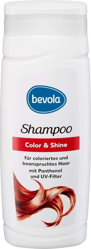 Abbildung des Sortimentsartikels Bevola Shampoo Color & Shine 300ml