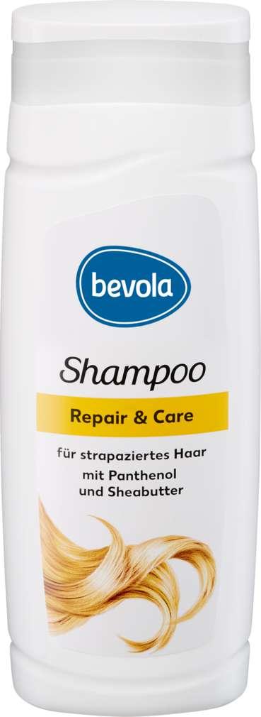 Abbildung des Sortimentsartikels Bevola Shampoo Repair & Care 300ml