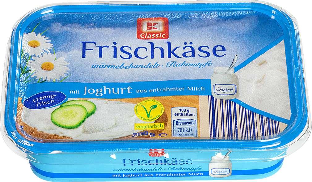 Abbildung des Sortimentsartikels K-Classic Frischkäse mit Joghurt 200g