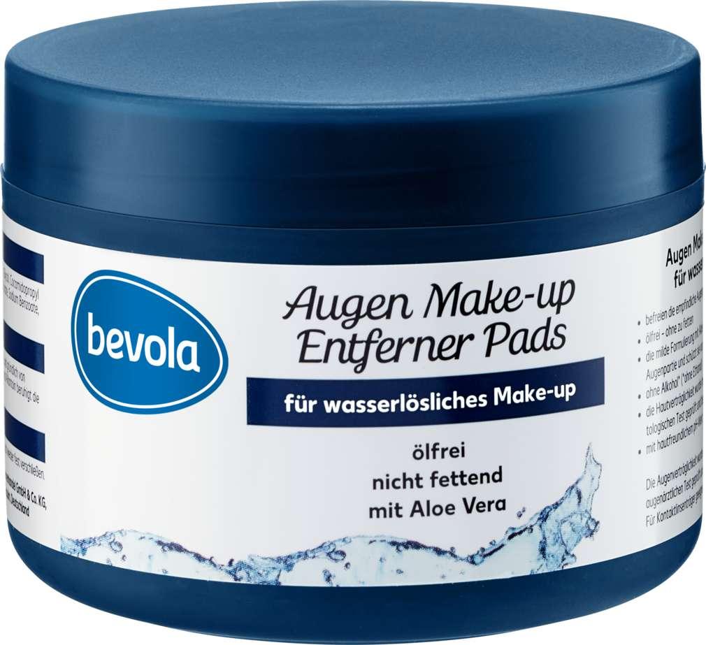 Abbildung des Sortimentsartikels Bevola Augen-Make Up - Entfernerpads ölfrei 50St.