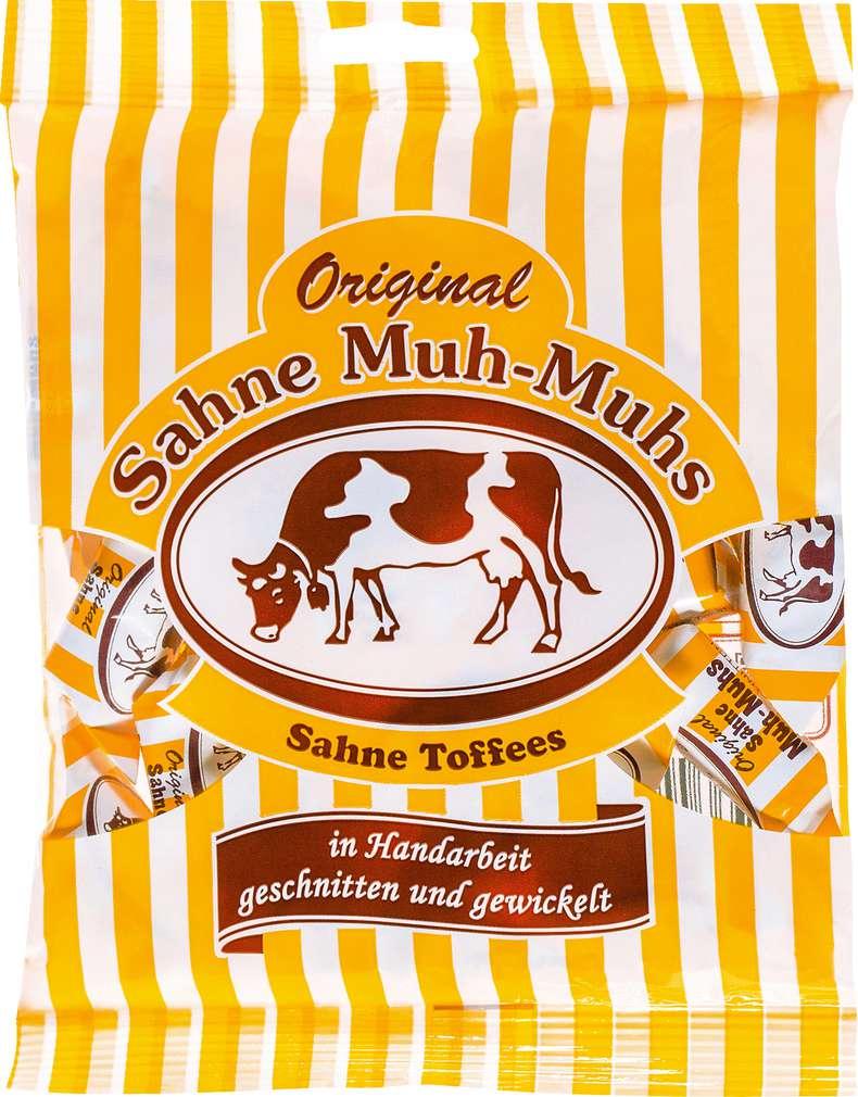 Abbildung des Sortimentsartikels Original Muh-Muhs Original Sahne Muh-Muhs 250g