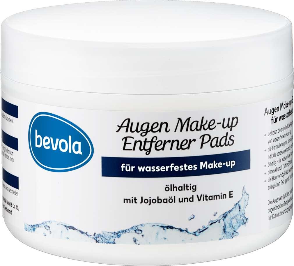Abbildung des Sortimentsartikels Bevola Augen-Make Up - Entfernerpads ölhaltig 50ST.