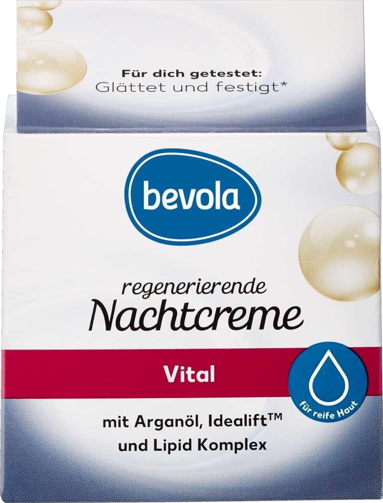 Abbildung des Sortimentsartikels Bevola Regenerierende Nachtcreme Vital 50ml
