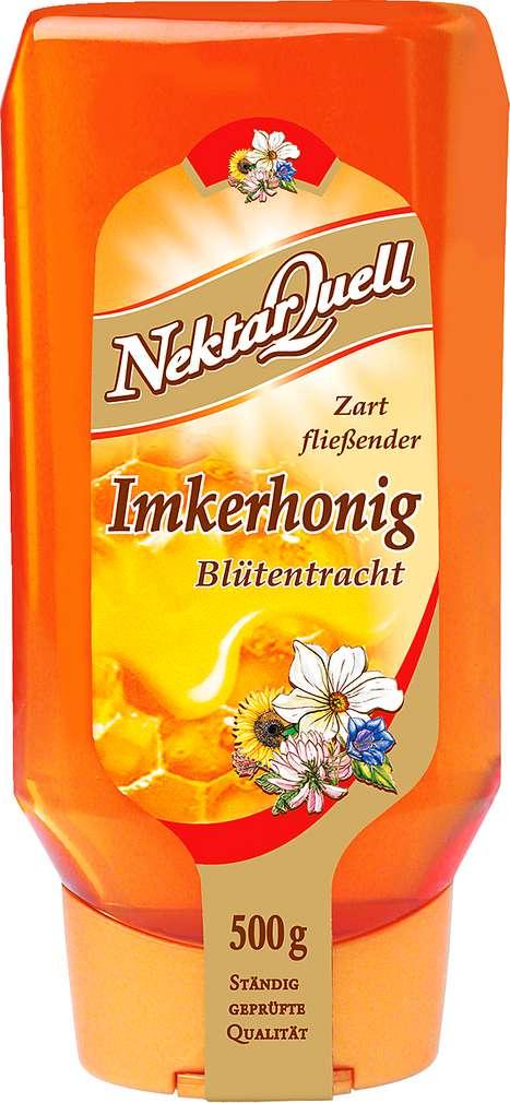 Abbildung des Sortimentsartikels NektarQuell Imkerhonig Blütentracht 500g