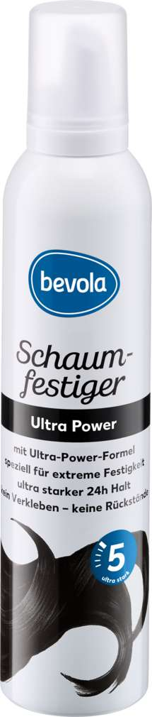 Abbildung des Sortimentsartikels Bevola Schaumfestiger Ultra Power 250ml