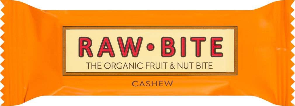 Abbildung des Sortimentsartikels Raw Bite Bio-Rohkostriegel Cashew, vegan 50g