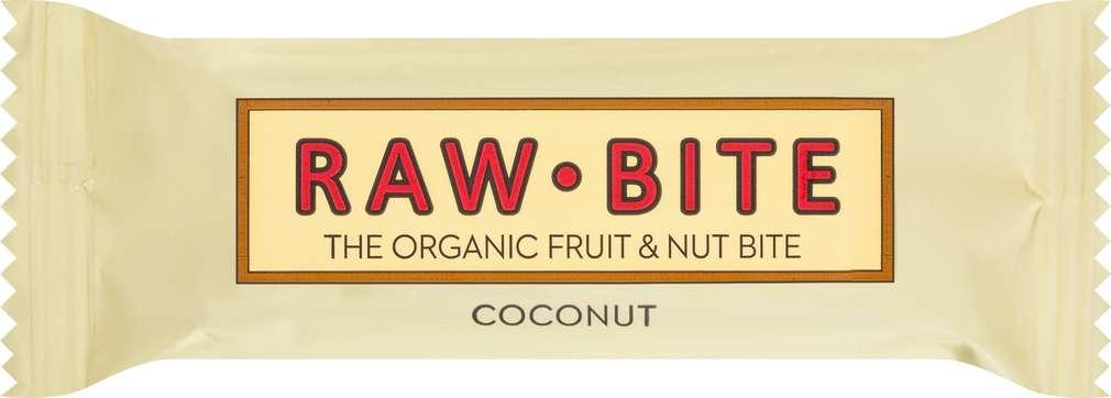 Abbildung des Sortimentsartikels Raw Bite Bio-Rohkostriegel Coconut, vegan 50g