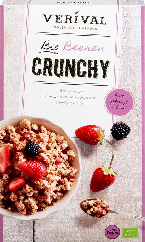 Abbildung des Sortimentsartikels Kellogg´s Verival Bio Crunchy Müsli Beeren 375g