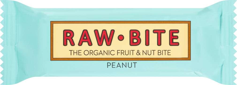 Abbildung des Sortimentsartikels Raw Bite Bio-Rohkostriegel Peanut, vegan 50g